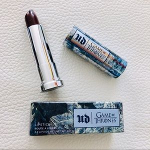 Urban Decay Game Of Thrones White Walker Lipstick